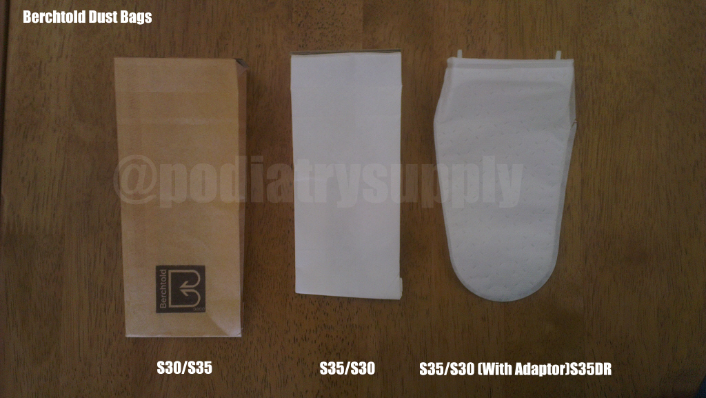 Berchtold paper and fleece dust  bags
