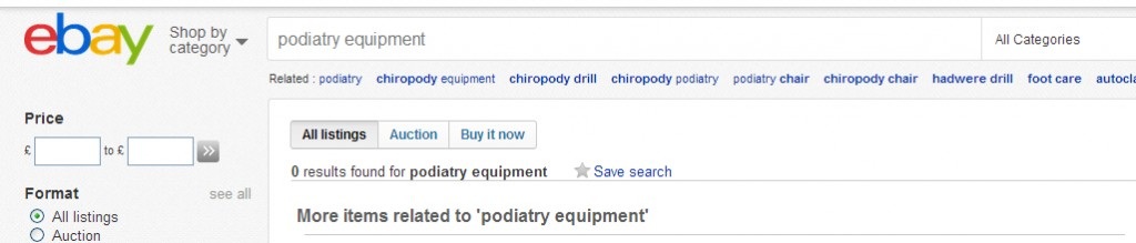 Podiatry Equipment On Ebay