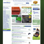 Canonbury Products Website